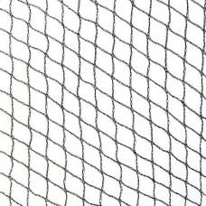 10m X 50m Nylon Netted Bird Net - Black