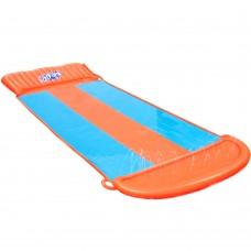 Bestway Triple Water Slip And Slide Kids Inflatable Splash Toy Outdoor 5.49m