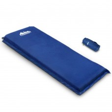 Self Inflating Mattress Single 8cm Blue