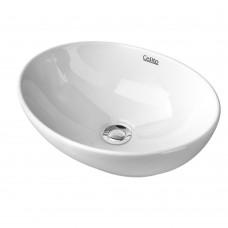 Oval Ceramic Wash Basin White