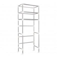 3 Tier Laundry Storage Rack - Silver