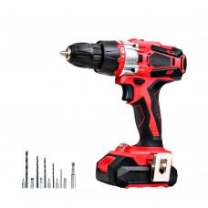 Giantz Hammer Drill Electric 20v Lithium Impact Cordless Brushless Drill