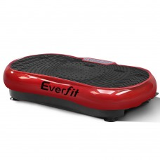 1000w Vibrating Plate Exercise Platform - Dark Red