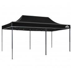 Instahut 3x6m Pop Up Gazebo Replacement Roof Outdoor Wedding Tent Garden Marquee Black