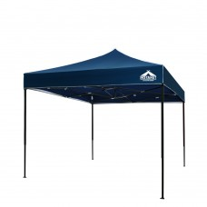 3m X 3m Pop-up Garden Outdoor Gazebo Navy