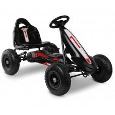 Kids Pedal Powered Go Kart - Black