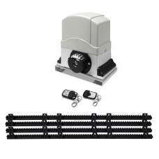 Automatic Sliding Gate Opener With 2 Remote Controls