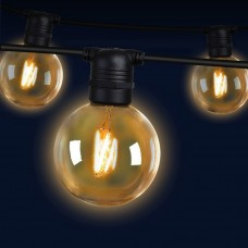 Jingle Jollys 41m Led Festoon String Lights 40 Bulbs Kits Wedding Party Christmas G80