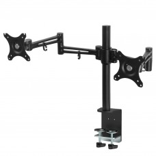 Fully Adjustable Dual Monitor Arm Stand