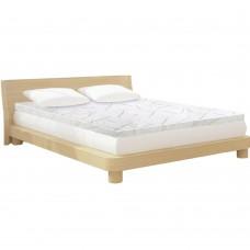 Giselle Bedding Cool Gel Memory Foam Mattress Topper Bamboo Cover Single 8cm Mat