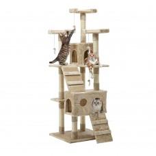 Cat Tree 180cm Beige