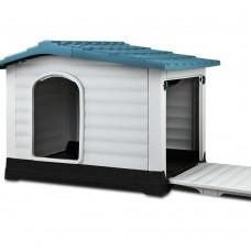 I.pet Weatherproof Pet Kennel - Blue