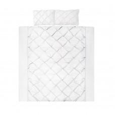 King 3-piece Quilt Set White