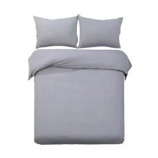 Queen 3-piece Quilt Set Grey