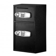 Ul-tech Electronic Safe Digital Security Box Double Door Lcd Display