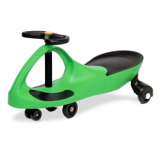 Kid's Ride On Wiggle Scooter -green