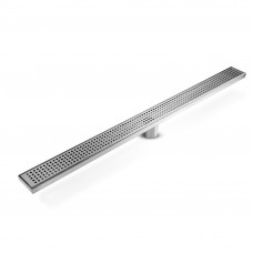 115x115mm Stainless Steel Shower Grate Tile Drain Square Bathroom Home
