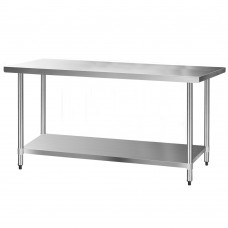 Cefito 1829 X 762mm Commercial Stainless Steel Kitchen Bench