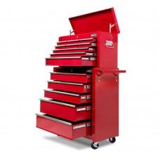 Giantz 14 Drawers Toolbox Chest Cabinet Mechanic Trolley Garage Tool Storage Box