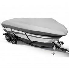 12 - 14 Foot Waterproof Boat Cover - Grey