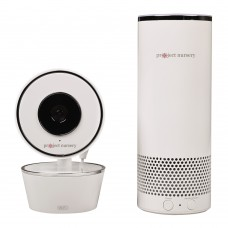 Video Camera With Amazon Alexa Unit