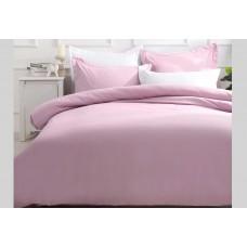 Single Size Pink Quilt Cover Set (2pcs)