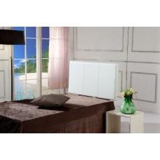 Pu Leather Single Bed Headboard Bedhead - White