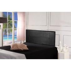 Pu Leather Double Bed Headboard Bedhead - Black
