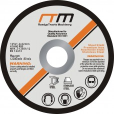 "125mm 5"" Cutting Disc Wheel For Angle Grinder X50"