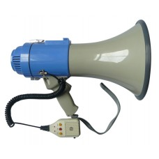 25w Megaphone Pa System Loud Speaker Voice Recorder