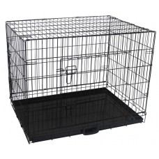 """36"""" Pet Dog Crate With Waterproof Cover"""