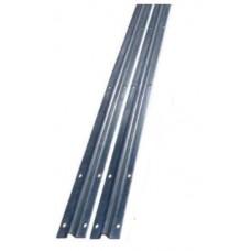 Sliding Gate Hardware Accessories Kit - 2m Track