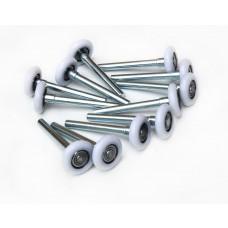 Garage Door Roller / Wheel / Heavy Duty 13 Ball Sealed Bearing 12 Pack
