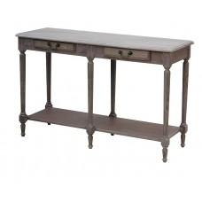 Wash White Louis Xvi Console Table