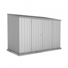 Absco 3.00mw X 1.52md X 2.08mh Space Saver Garden Shed Zincalume