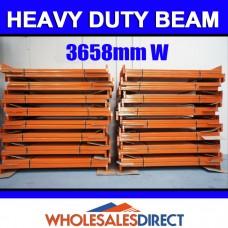 Pallet Racking Beam 3658 x 140mm 2100kg Heavy Duty