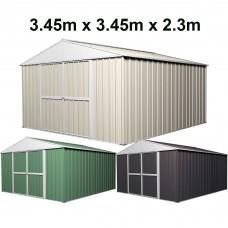 Garden Shed 3.45 x 3.45m x 2.3m High
