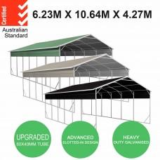Carport 6.2 x 10.6 x 4.3 m Vehicle Shelter