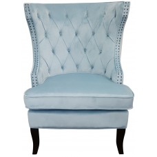 Oxford Upholstered Button Wingback Sofa Lounge Armchair