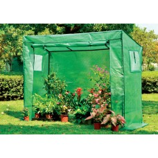 EcoPro 200 x 78 x 150cm Walk-in Tunnel Greenhouse PE Cover Tomato Plant Garden Green Shade