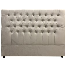 Georgia Queen Headboard Upholstered Button Tufted Chesterfield Bed Headboard