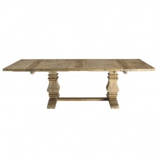 Hamptons Style Extendable Pedestal Dining Table 180 - 260cm