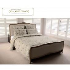 French Furniture Provincial Bed Frame in Natural Oak