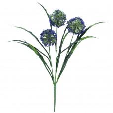 Lush Flowering Purple Hydrangea Stem 35cm