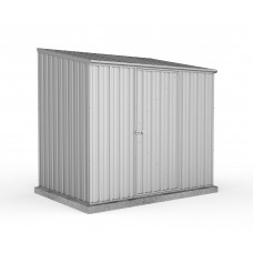 Absco 2.26mw X 1.52md X 2.08mh Space Saver Garden Shed Zincalume