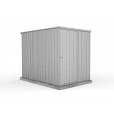 Absco 1.52mw X 2.26md X 1.80mh Basic Garden Shed Zincalume