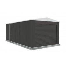 Absco 3.00mw X 5.96md X 2.30mh Highlander Garage With Roller Shutter Door