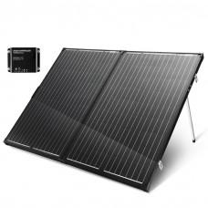 Folding Solar Panel Kit 18v 250w Mono Caravan Boat Camping Charging Atem Power