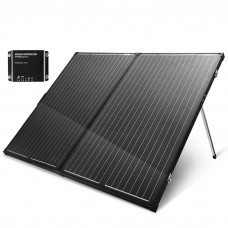 Folding Solar Panel Kit 18v 300w Mono Caravan Boat Camping Charging Atem Power
