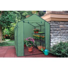 EcoPro 180x250x220cm Extra High Walk in Tunnel Greenhouse PE Cover Plant Garden Shade